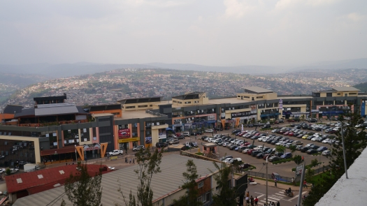 基加利的購物與商業城鎮
